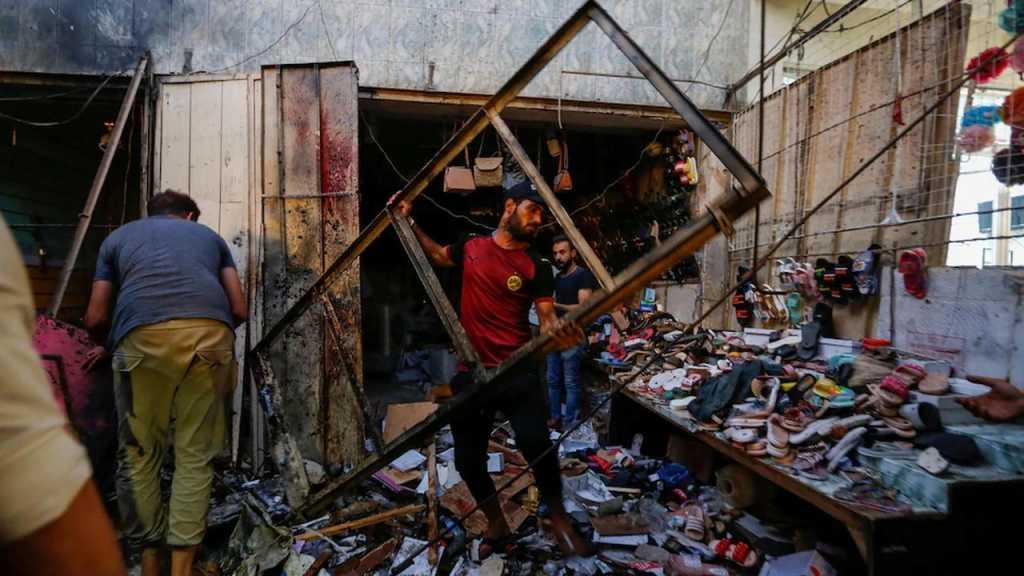 Une trentaine de martyrs lors d'un attentat revendiqué par «Daech» sur un marché de Bagdad