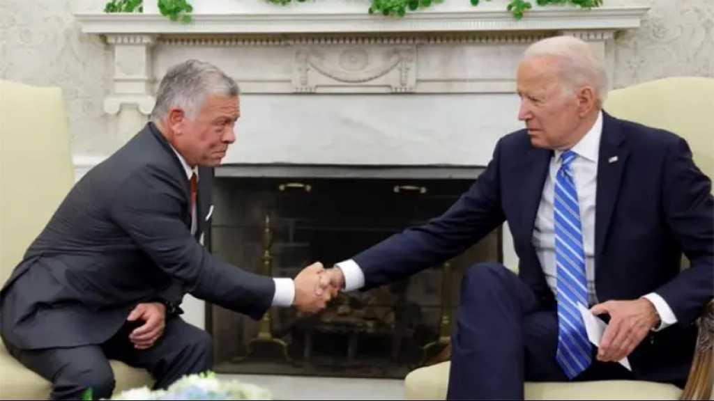 Biden promet de «renforcer» la coopération avec la Jordanie