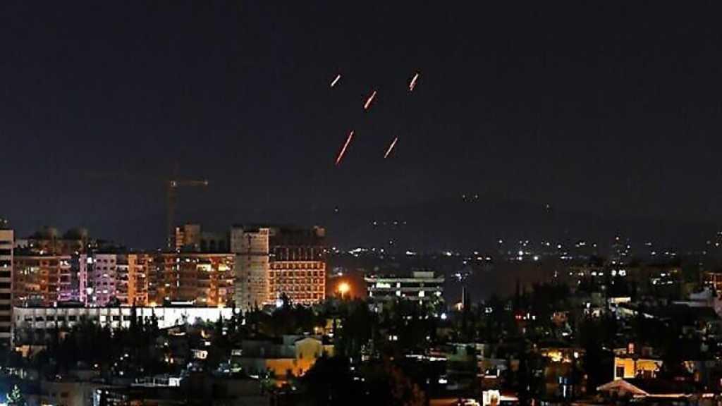 Syrie: la défense antiaérienne intercepte des missiles israéliens à Alep