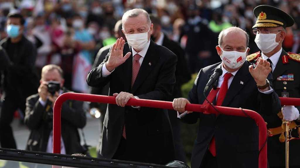 Erdogan à Chypre: une solution à deux Etats, ou rien