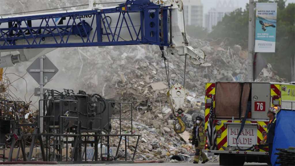 Immeuble effondré en Floride: fin officielle des recherches, 97 corps retrouvés