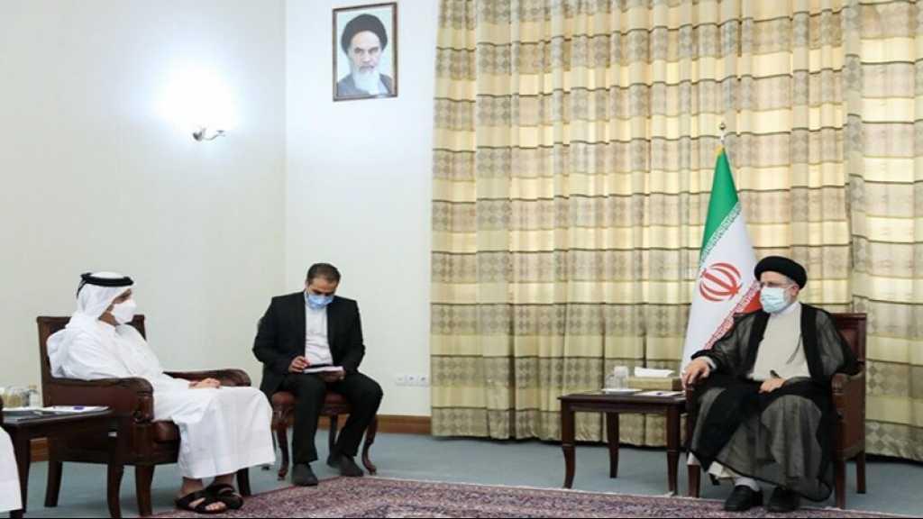 Le chef de la diplomatie du Qatar à Téhéran: «Soyez certain que l'Iran souhaite le bien à ses voisins»