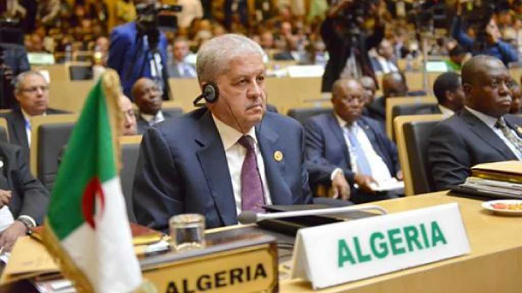 Alger dénonce la décision de l'Union africaine d'accueillir «Israël» comme observateur