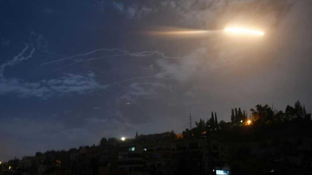 L'armée syrienne repousse une attaque aux missiles de l'aviation israélienne près de Damas