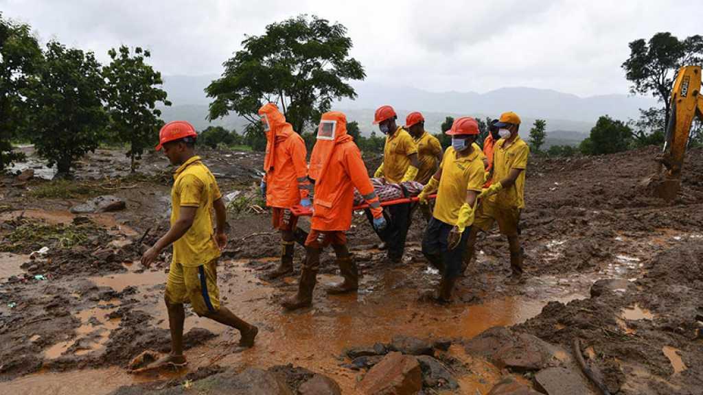 Inde: Le nettoyage commence après les pluies diluviennes, plus de 159 morts