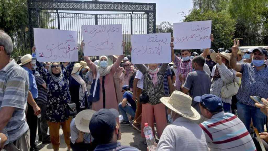 Tunisie: affrontements devant le Parlement après la suspension de ses travaux par le président Saied