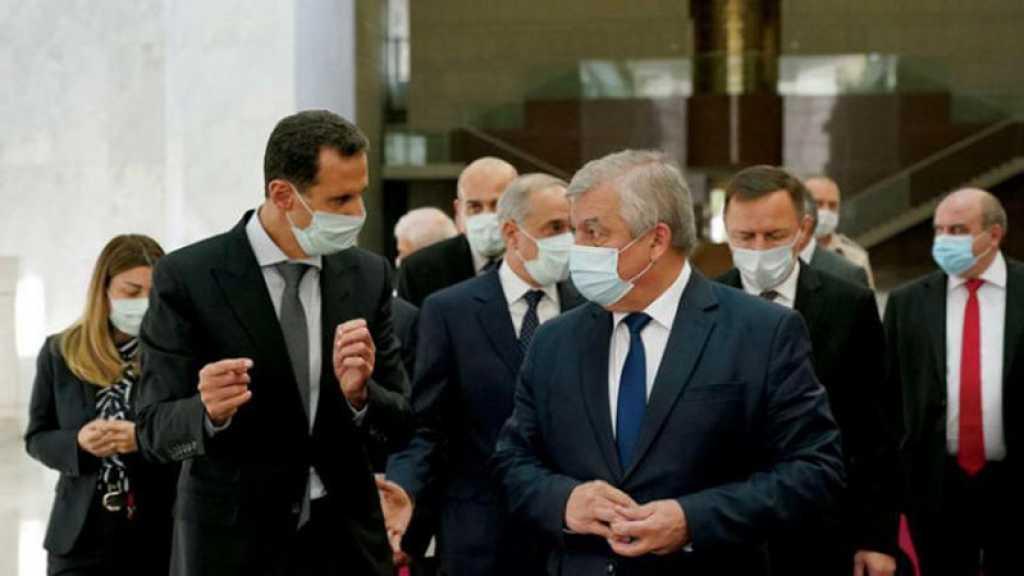 Assad reçoit une délégation russe, le retour des réfugiés syriens sur la table des discussions