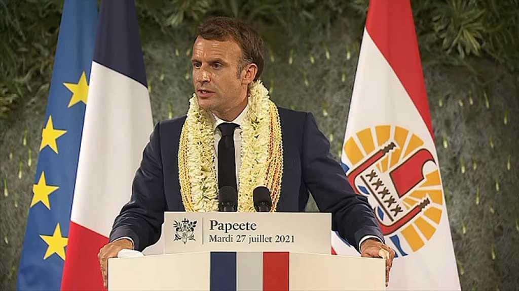 Essais nucléaires: la France «a une dette» envers la Polynésie française, reconnaît Macron