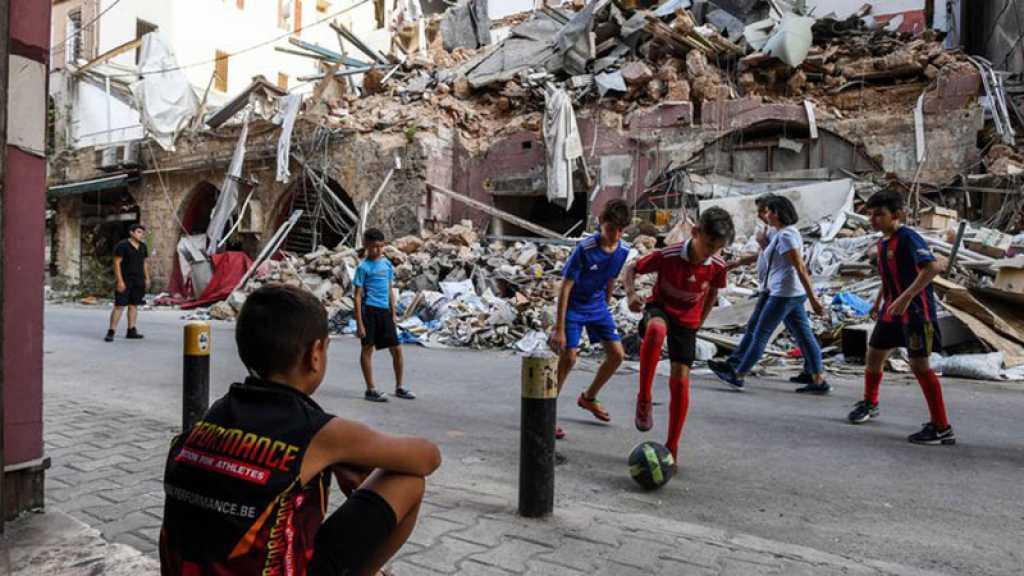 Un an après les explosions à Beyrouth, l'avenir des enfants au Liban en péril