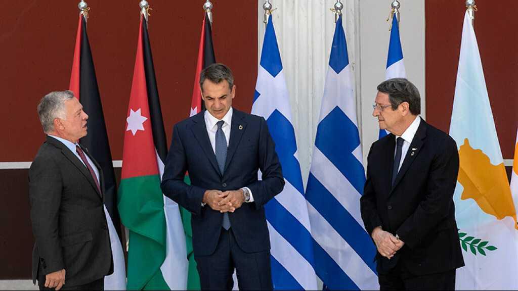 La Grèce, Chypre et la Jordanie veulent un «règlement juste sur le problème chypriote»