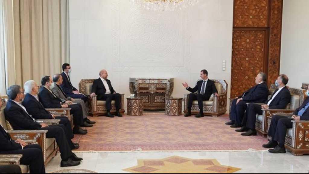 Assad: la coordination avec Téhéran se poursuivra jusqu'à ce que tout le territoire syrien soit libéré