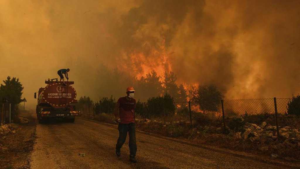 La Turquie, la Grèce et l'Italie en proie à de violents incendies