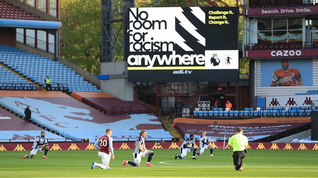 Angleterre: contre le racisme, les joueurs de la Premier League mettront le genou à terre