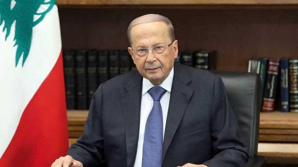 Un an après l'explosion du port de Beyrouth, le président Aoun toujours «engagé à ce que justice soit faite»