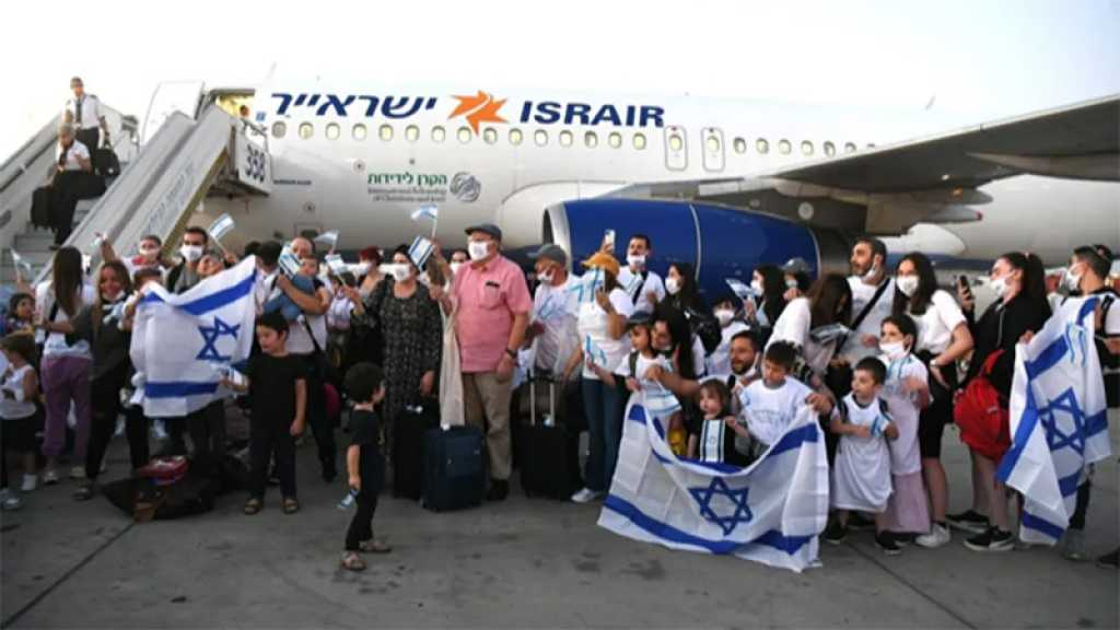 130 nouveaux immigrants de France ont atterri en «Israël»