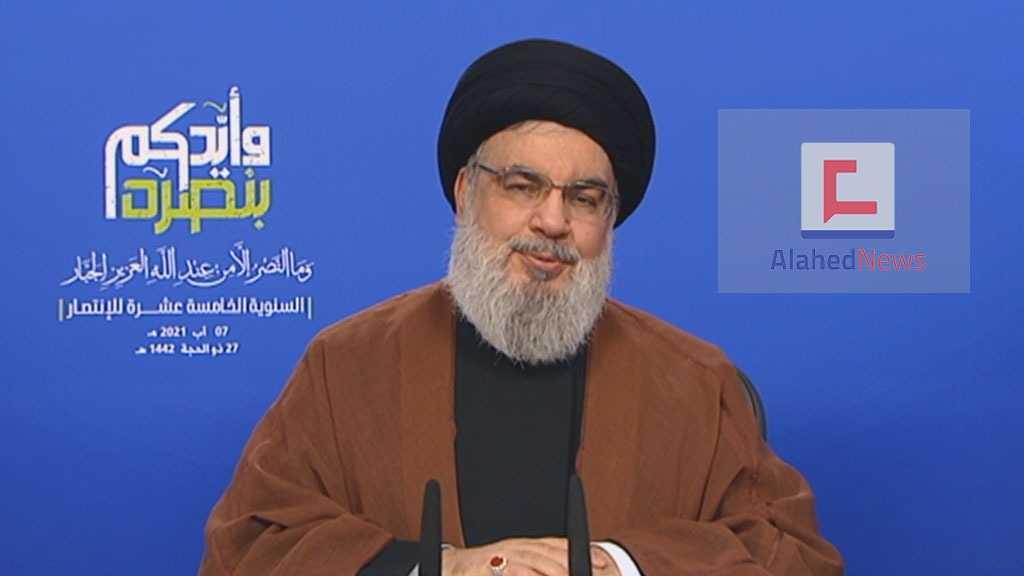 Sayed Nasrallah: Plus que jamais, «Israël» a peur pour son existence-même, nous répondrons à toute attaque de façon adéquate