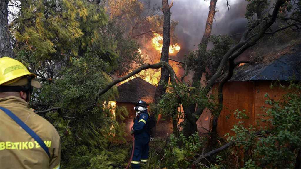 Les incendies maîtrisés en Grèce, l'Europe du Sud reste en alerte