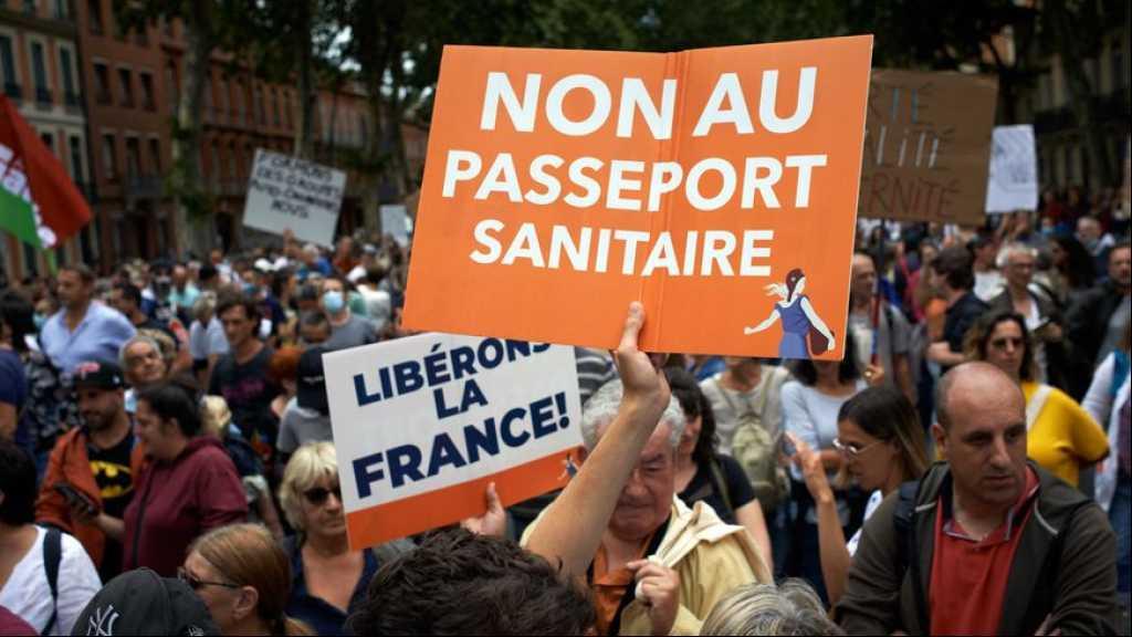 Manifestations anti-pass: cinquième week-end de mobilisation en France