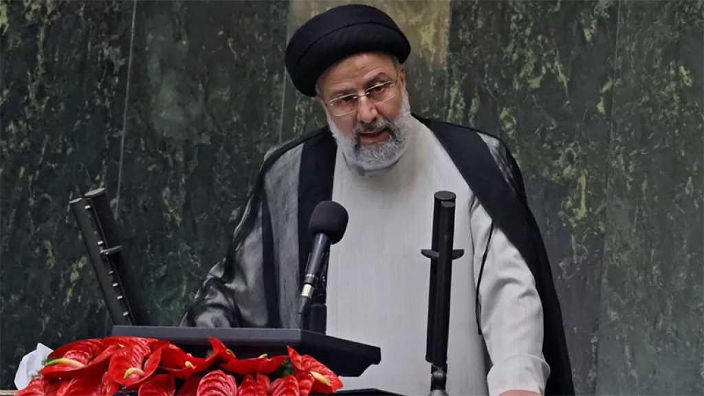 La défaite des Américains en Afghanistan doit se transformer en «opportunité de paix», dit Raïssi