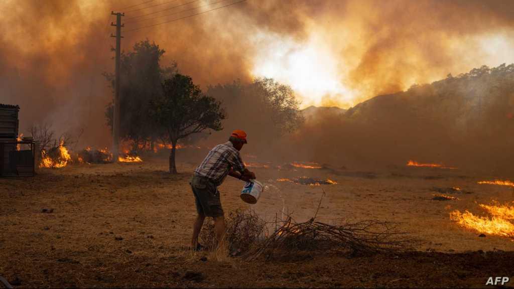 L'Algérie accuse «Israël» et le Maroc d'être à l'origine d'incendies de forêt meurtriers