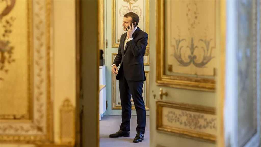 Macron s'entretient de l'Afghanistan avec Biden, Poutine et Draghi