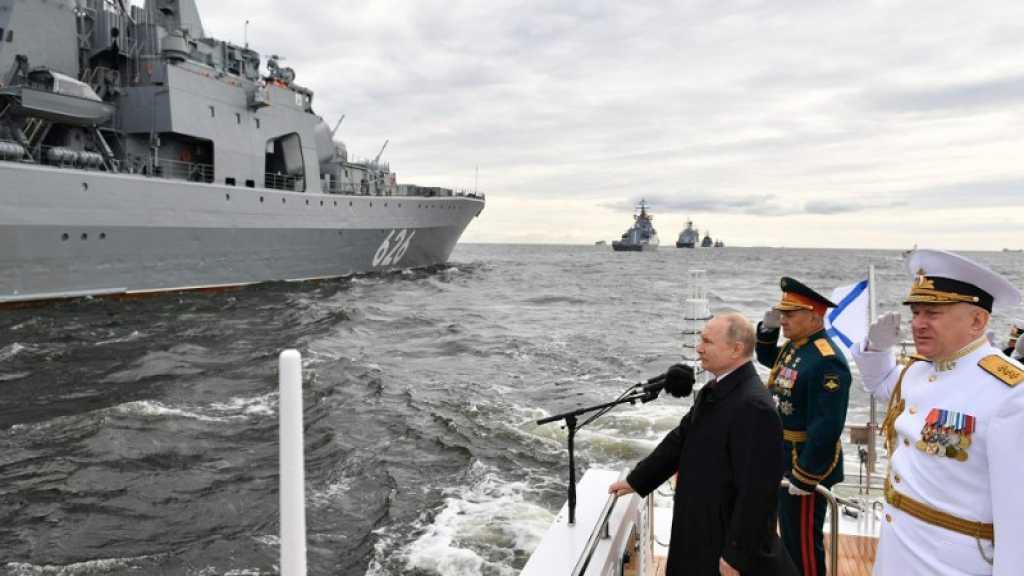 Russie: Poutine lance la construction de nouveaux navires de guerre sur fond de tensions avec l'Occident