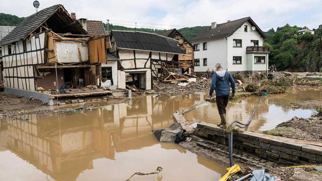 Allemagne et Belgique: le réchauffement en cause dans les inondations dévastatrices