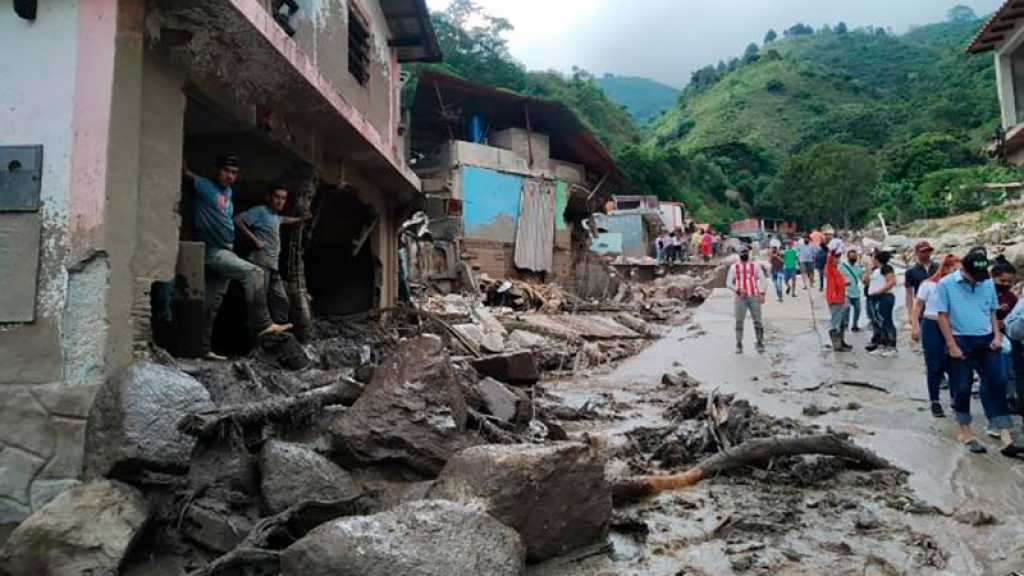 Le bilan des inondations au Venezuela s'alourdit