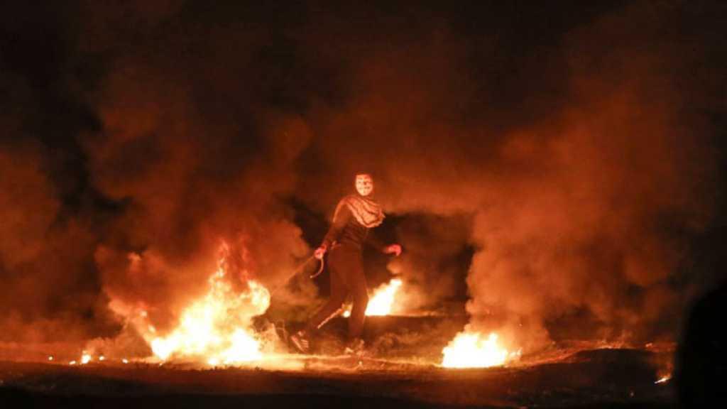 Nouveau rassemblement palestinien à la frontière de Gaza, 3 Palestiniens blessés