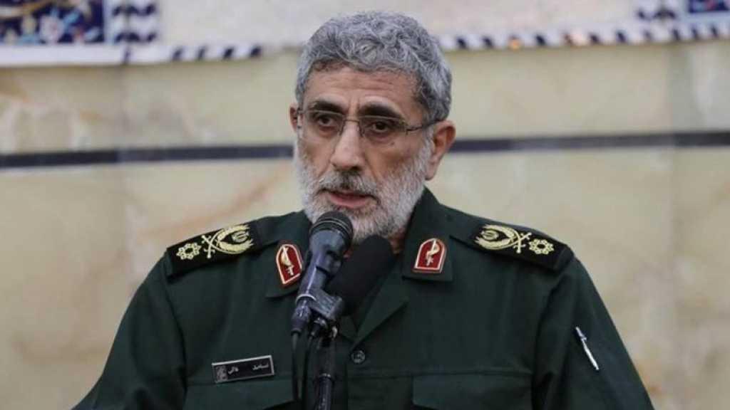Le général Qaani: Les USA sont entrés en Afghanistan pour dominer l'Iran, la Russie et la Chine, mais ils ont échoué et pris la fuite