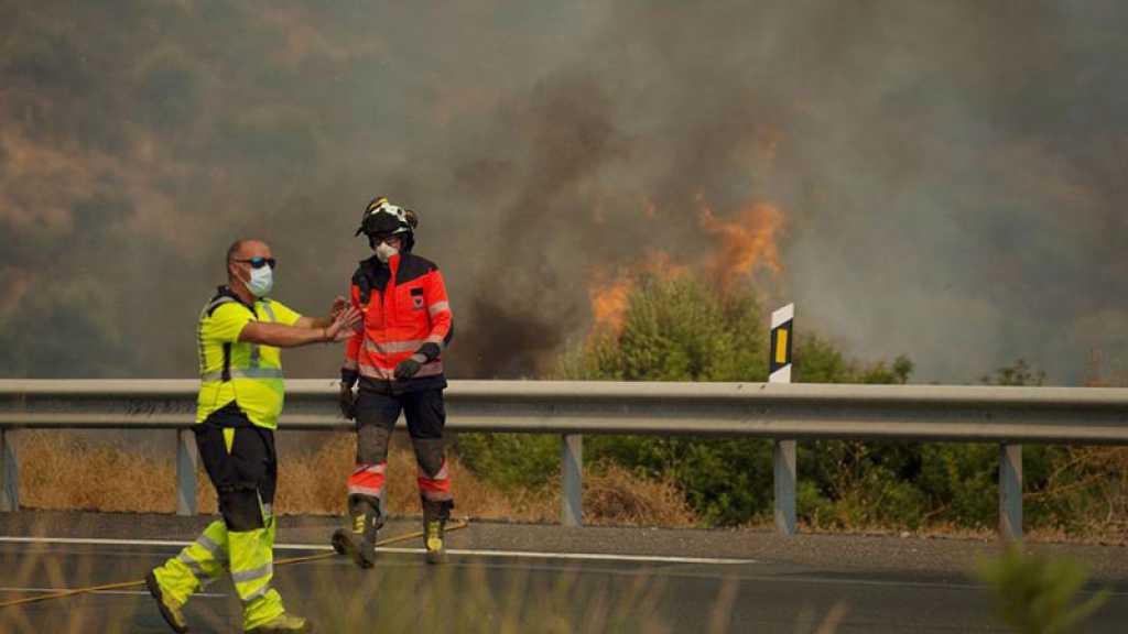 Espagne: huitième jour d'incendies en Andalousie, plus de 8000 hectares détruits