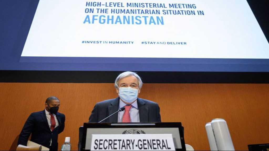 Afghanistan: crainte d'une catastrophe humanitaire, l'ONU appelle au dialogue avec les talibans