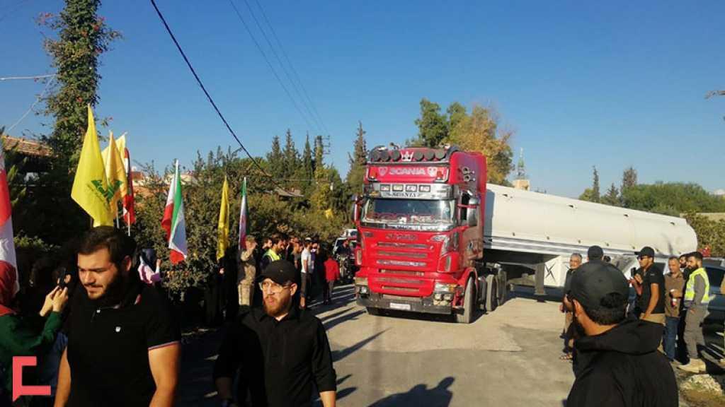 Les premiers camions-citernes chargés de fuel iranien sont arrivés au Liban