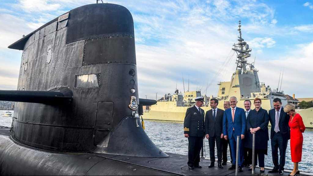 Contrat sur les sous-marins: Le Drian dénonce un «coup dans le dos» de l'Australie