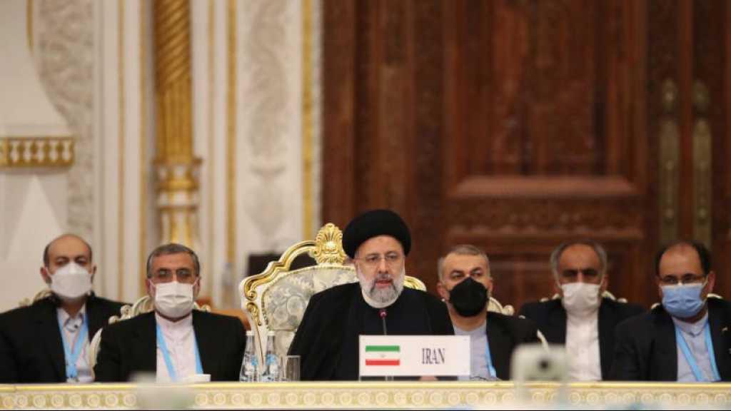 L'Iran rejoint l'OCS: «La sécurité de la région peut se réaliser sans ingérence étrangère», dit Raïssi