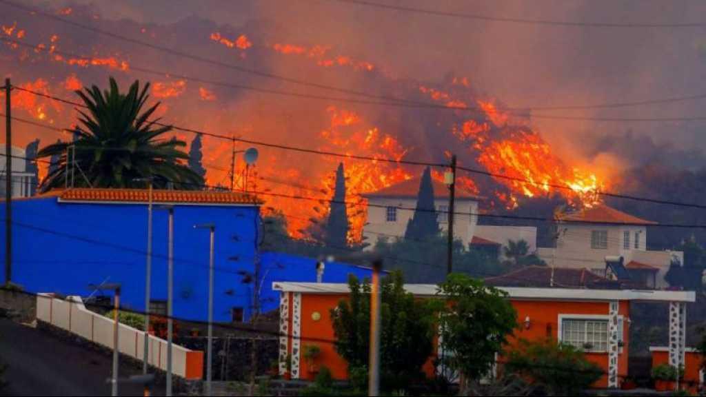 Eruption volcanique aux Canaries: «une centaine» de maisons détruites par la lave
