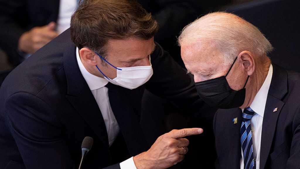 Sous-marins: Washington et Londres cherchent l'apaisement, prochain échange Biden-Macron