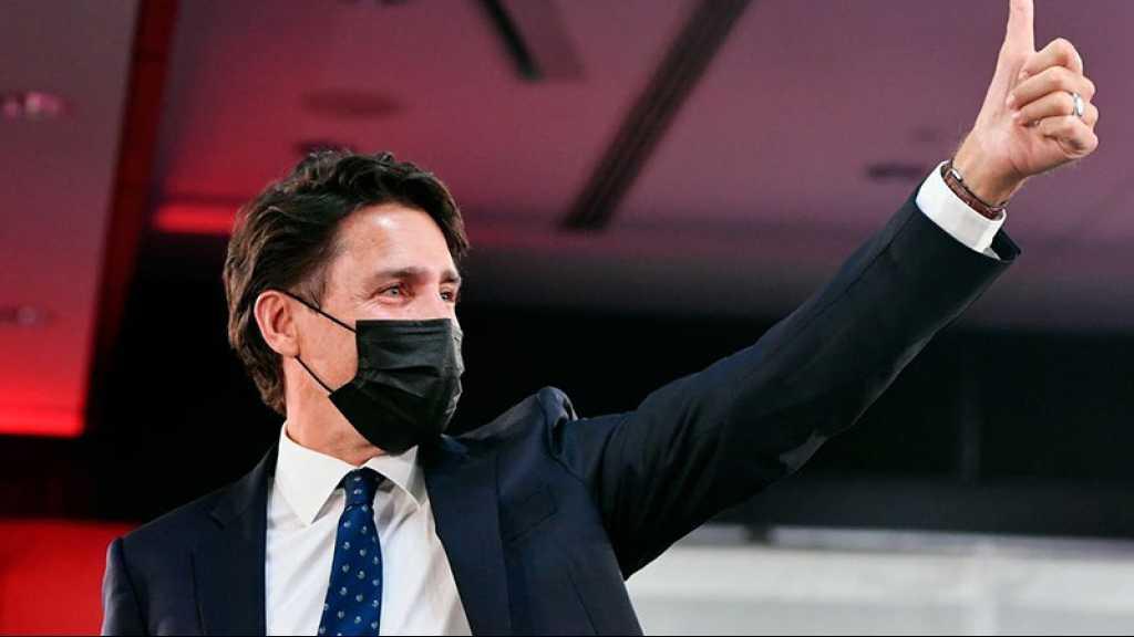 Canada: réélu, Trudeau promet un «avenir meilleur» après la pandémie
