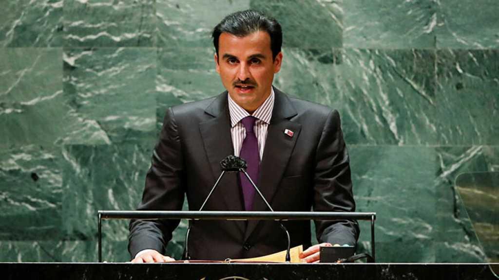 L'émir du Qatar fustige les violations israéliennes à Al-Qods