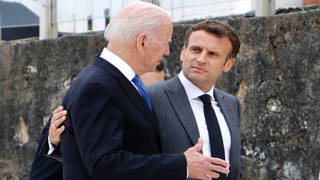 Sous-marins: Macron et Biden promettent de restaurer «la confiance»