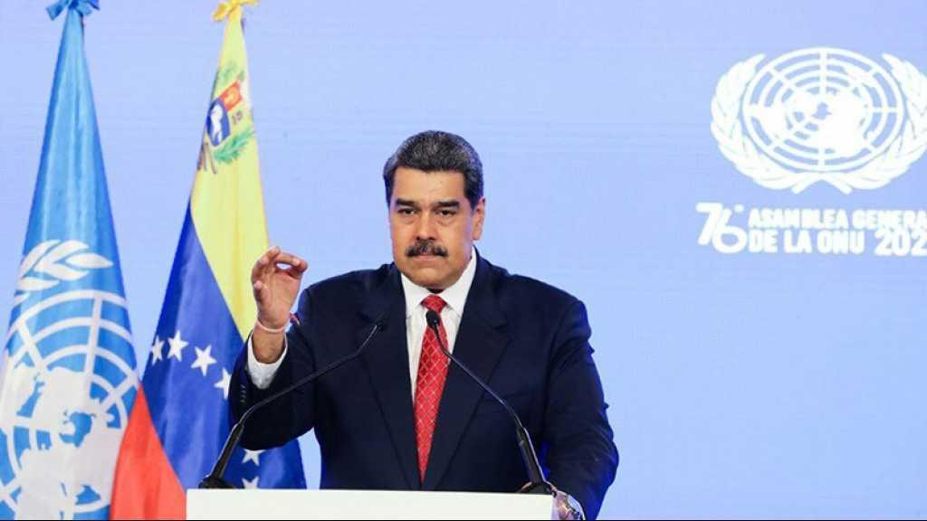 Maduro plaide en faveur de la levée des sanctions contre le Venezuela devant l'ONU