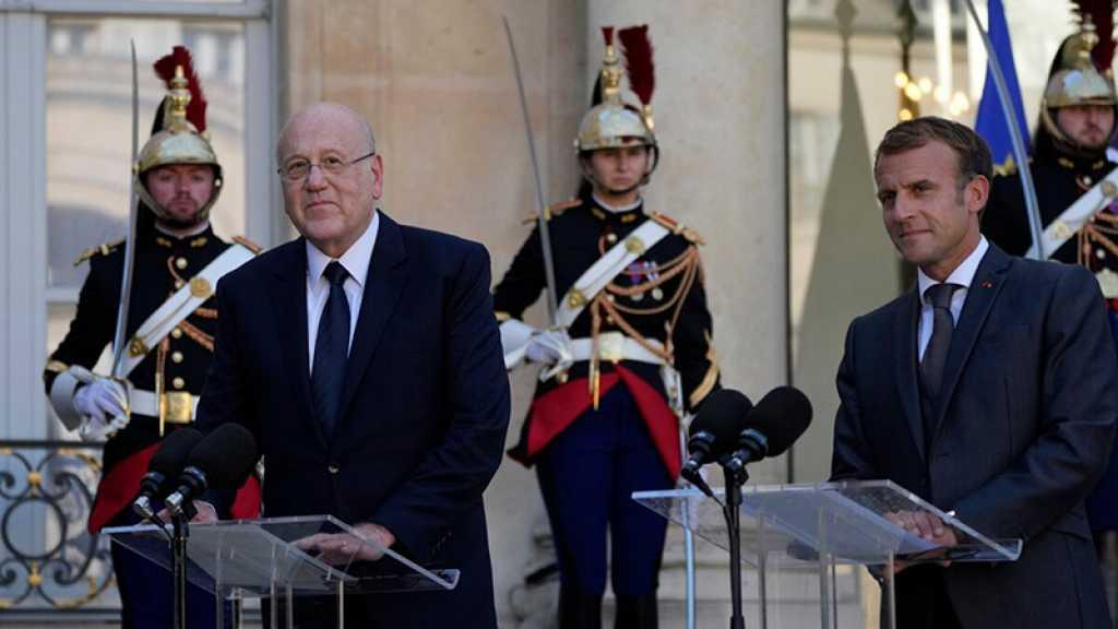 Liban: Macron appelle Mikati à enclencher les réformes d'«urgence»