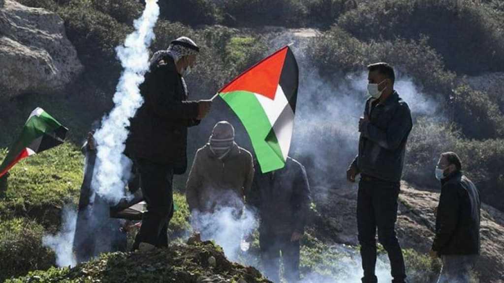 Un martyr par les balles d'occupation au sud de Naplouse