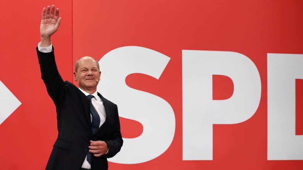 Élections en Allemagne: les sociaux-démocrates remportent les législatives