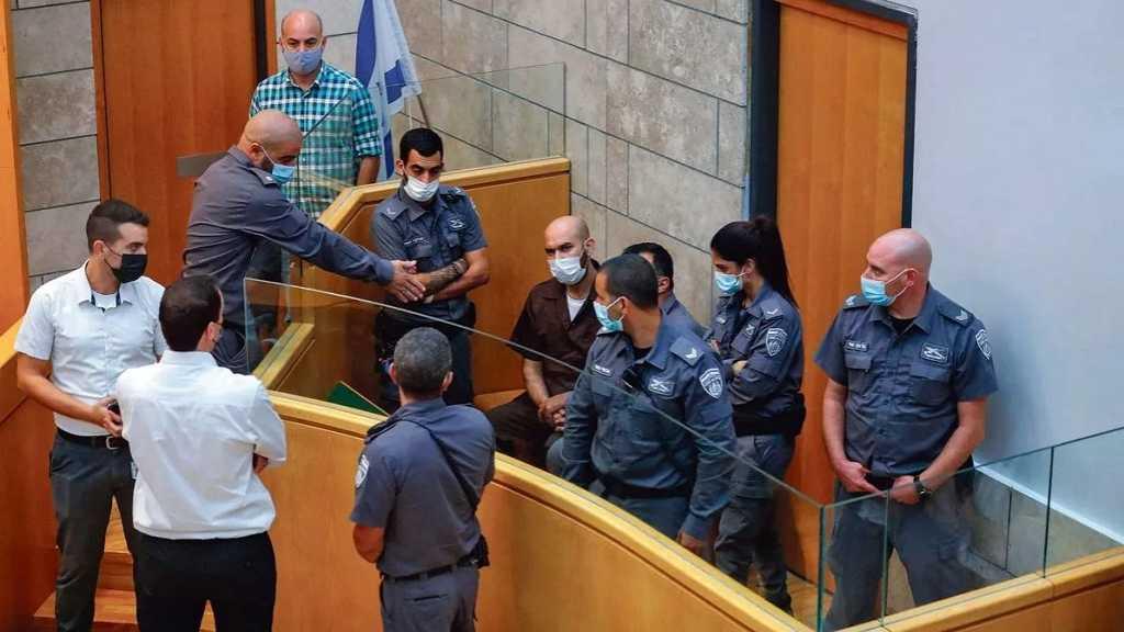 «Israël» dépose des actes d'accusation contre les 6 détenus fugitifs de la prison de Gilboa