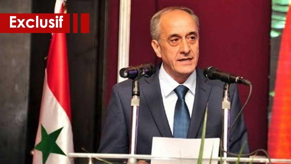 Ministre adjoint syrien des AE à AlAhed: Le projet américain ourdi contre la Syrie et la région a échoué
