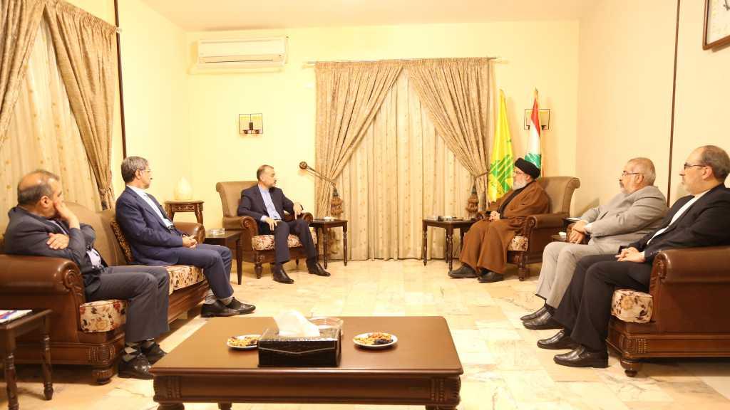 Sayed Nasrallah à Abdollahian: «L'Iran a prouvé qu'elle est l'allié franc qui ne délaisse pas ses amis