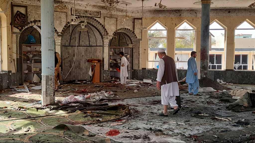 Afghanistan: des dizaines de martyrs et au moins 90 blessés dans l'explosion dans une mosquée de Kunduz
