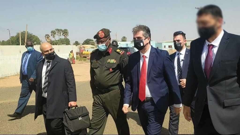 Normalisation: une délégation sécuritaire et militaire du Soudan s'est rendue en «Israël»