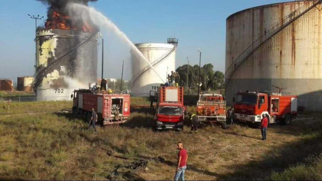 Important incendie dans une raffinerie au Liban sud